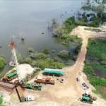 Poços da Braskem à beira da Lagoa Mundaú não oferecem mais segurança aos moradores