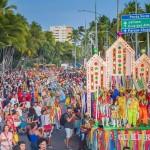 Cortejo cultural do Natal de Folguedos encantou os maceioenses e os turistas