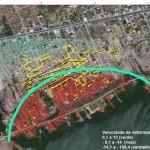 Região dos bairros do Pinheiro, Mutange e Bebedouro atingidos pela exploração do sal-gema