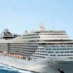 Navio Fantasia atraca em Maceió pela primeira vez na história e é um dos mais novos e luxuosos da companhia MSC