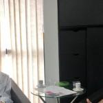 Presidente do Sindaçúcar, Pedro Robério, e o presidente da Asplana, Edgar Filho, discutem alternativas para o fortalecimento do Consecana
