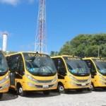 Rede estadual ganhará mais cem novos ônibus