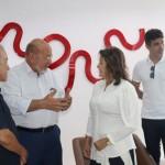 Presidente da Fiea, José Carlos, recebe e conversa com os empresários da Natville que escolhem Alagoas para ampliar produção no Nordeste