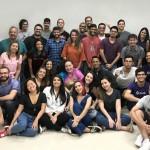 Integrantes da Startup felizes com o convite para apresentar trabalho aos EUA