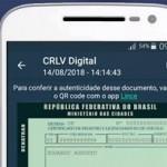 CRLV digital é acessado pelo aplicativo Carteira Digital de Trânsito (CDT)