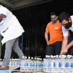 Serviço Nacional de Aprendizagem Industrial (Senai) faz doação de álcool para Centro Espírita Nosso Lar no combate à Covid 19