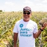 Presidente da Associação dos Produtores de Limoeiro de Anadia, Alvânio Vicente, comemora mais um Dia do Agricultor com orgulho e conquistas na produção de abacaxis