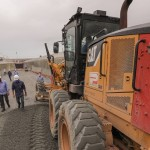 Governador e secretário Mosart Amaral fazem inspeção técnica ao equipamento viário