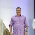 Georginei Neri, Fábio Guedes, Rodrigo Rossiter participaram da solenidade