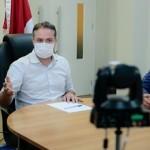 Governador Renan Filho e secretário da Fazenda George Santoro acertam a nomeação dos aprovados no concurso