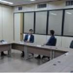 Prefeito JHC mantém conversa com o secretário-executivo do Ministro da Infraestrutura, Marcelo Sampaio, sobre recursos para a capital alagoana