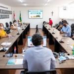 Representantes das entidades do trade turístico como ABIH, Abrasel e Maceió Convention estiveram na Sedetur para apresentação de plano de ação