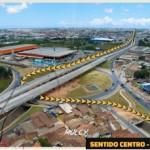 Viaduto estará facilitando a vida de quem transita na região