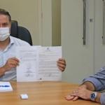Governador Renan Filho e o secretário da Fazenda George Santoro acham vantajoso elevar participação do Estado na Algás